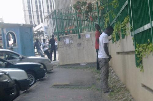Article : Abidjan : les adeptes du petit pipi rapide